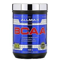 Аминокислоты чистые BCAA AllMax, 400 г бец вкуса