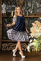Жіноче плаття великі розміри 48-58, фото 1