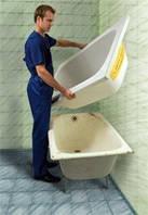 Реставрація ванн Ванна у ванні Вкладиш