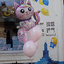 Кульки з котиком