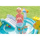 Дитячий надувний ігровий центр Intex 57129 Аллиигатор, фото 6