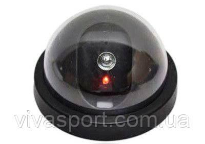 Видеокамера муляж купольная, камера обманка Camera Dummy