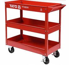 Передвижная тележка для инструментов YATO YT-55210 (Бесплатная Доставка)
