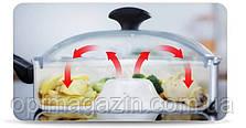 Сковорода Жароварка Dry cooker, фото 3
