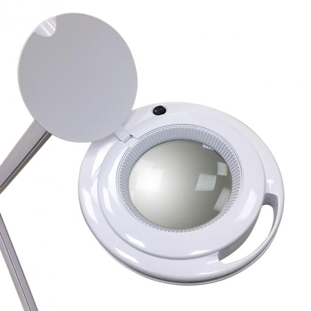 Лампа-лупа для косметолога мод. LS-6017Н LED - 3 ДІОПТРІЇ 9W, холодний світ 3D (діоптрії)