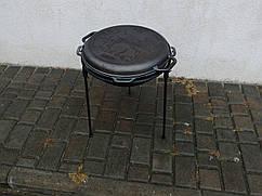 Казан чавунний азіатський з кришкою-сковородою Бризол Об'єм 12 л