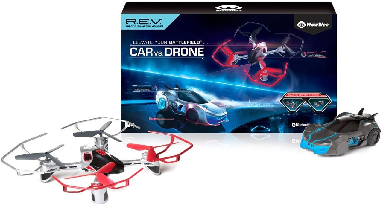 Роботизированные машина и дрон Wow Wee Robotic Enhanced R.E.V. Air