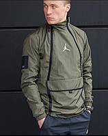 Чоловіча стильна вітровка з кишенею, фото 1