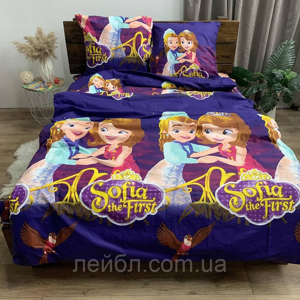 Распродажа полуторное постельное белье Бязь Gold –  Sofia Sofia