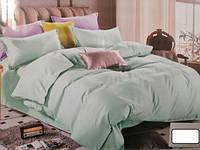 Комплект постельного белья двуспальный PERFUME коттон (29458) Бирюзовый