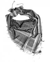 Повязка универсальная Арафатка (White/Black), фото 1
