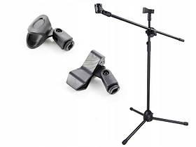 Профессиональная стойка для микрофона (журавль, напольная)