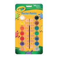 Набор для творчества Crayola 14 баночек краски - темпера (3978)
