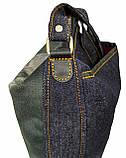 Джинсовая сумка с котом СФИНКС 2, фото 3