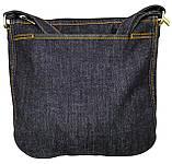 Джинсовая сумка с котом СФИНКС 2, фото 5
