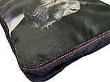Джинсовая сумка с котом СФИНКС 2, фото 2