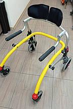 Б/У Задне-опорные ходунки для детей с ДЦП R82 Crocodile Gait Trainer Size 1 + Back Support