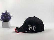 Кепка Бейсболка Чоловіча Жіноча City-A з логотипом Авто BMW БМВ Чорна, фото 3