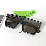 УЦІНКА Сонцезахисні окуляри-маска, сірі, фото 3
