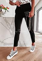 Жіночі стильні брюки з кишенями, фото 1