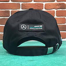 Кепка Бейсболка Мужская Женская City-A с логотипом Авто Mercedes-Benz Мерседес Nico Черная, фото 2