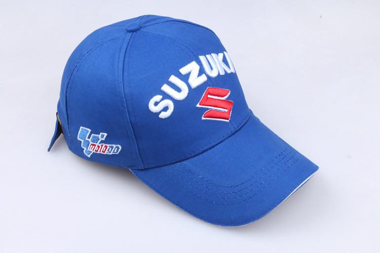 Кепка Бейсболка Чоловіча Жіноча City-A з логотипом Авто Suzuki Сузукі Синій