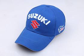 Кепка Бейсболка Чоловіча Жіноча City-A з логотипом Авто Suzuki Сузукі Синій, фото 3