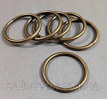 Кільце металеве карниза для штор ø19мм (10шт.)