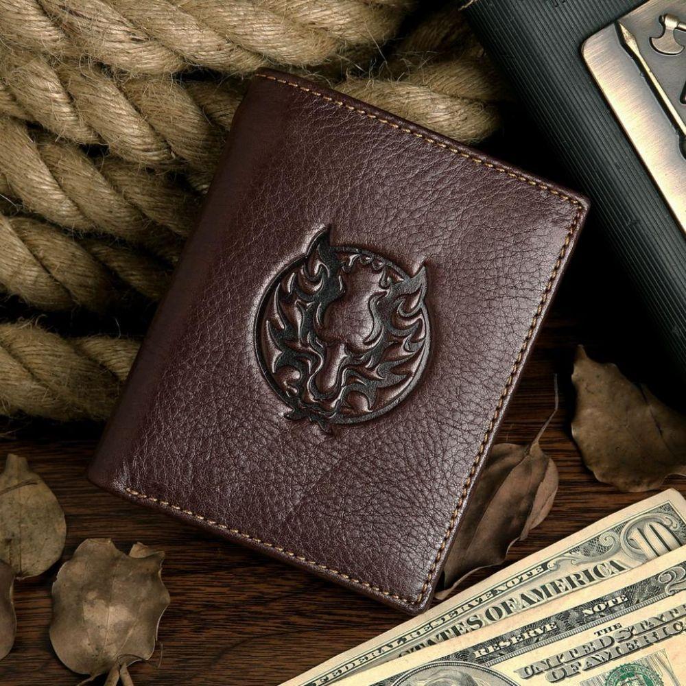 Кошелек мужской Vintage 14130 Коричневый