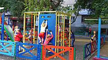 Огорожа, Паркан 1 секція 1250х70х800. В парк, Сад, Дитячий Садок, Школу. Будь-який КОЛІР