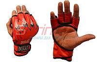 Перчатки для рукопашного боя. ММА р-р L красный.