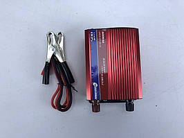 Инвертор PowerOne+ 12V-220V 500W + USB LED (PD-500W)