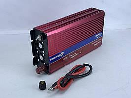 Перетворювач PowerOne + 12V-220V 4000W + USB (PI-4000W)