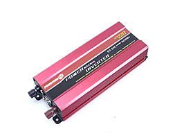Перетворювач PowerOne Plus 12V-220V 2000W + USB/LED (SSB-2000W)