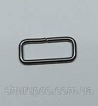 Рамки проволочная 25 мм (Темный никель)