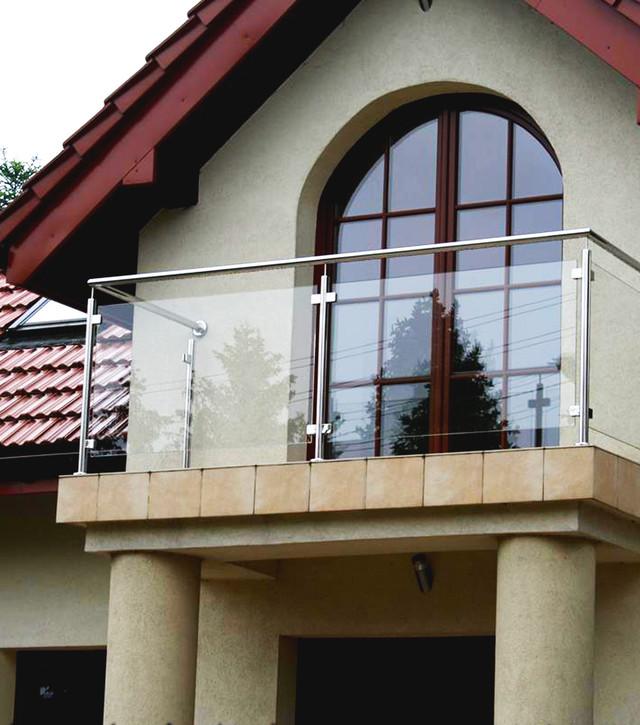 Стальные перила и ограждения для балкона цена