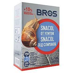 Средство от слизней BROS Snacol/Снакол (Слимакс) Коробка 1кг