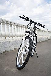 Гірський велосипед BMW-1 PRO на литих дисках 24 скор., алюмінієва рама Білий Унісекс. Для дорослих, підлітків