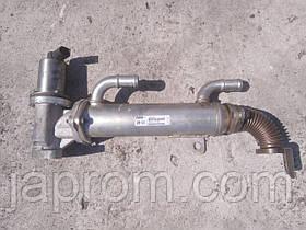 Охладитель выхлопных газов (Радиатор EGR) Hyundai Santa Fe II 2006-2010г.в. 2.2 дизель