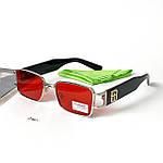 Узкие прямоугольные солнцезащитные очки, фото 2