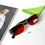 Узкие прямоугольные солнцезащитные очки, фото 3