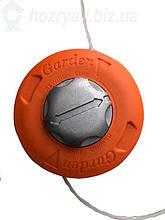 Катушка косильная Garden. шпуля для бензокосы с автоматической намоткой с металлической кнопкой