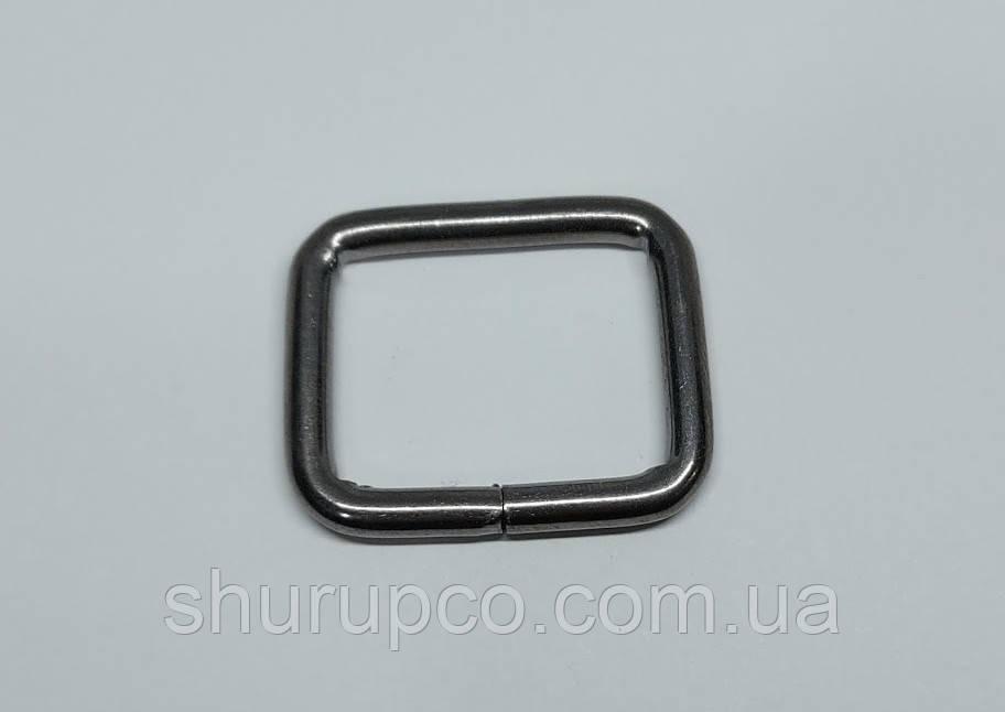 Рамки проволочная 25*3,3 мм (Темный никель)