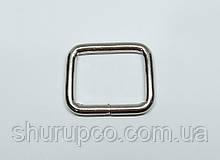 Рамки проволочная 25*3,3 мм (Никель)