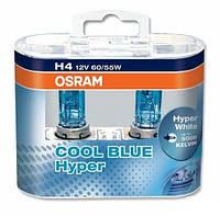 Автолампа H4 галогеновая 60/55W Osram 62193 Cool Blue Hyper 2 шт.