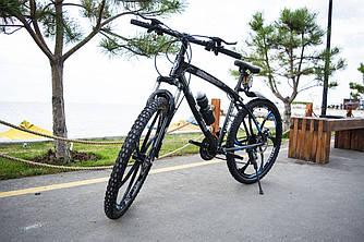 Гірський велосипед BMW-2 на литих дисках 21 швидкість Чорний Унісекс. Для дорослих, підлітків