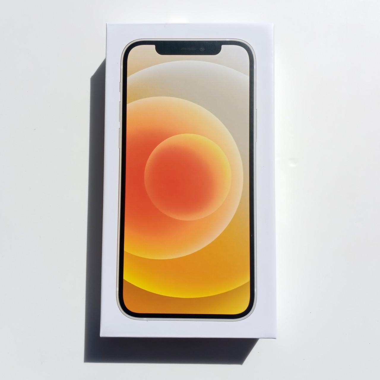 Коробка Apple iPhone 12 White