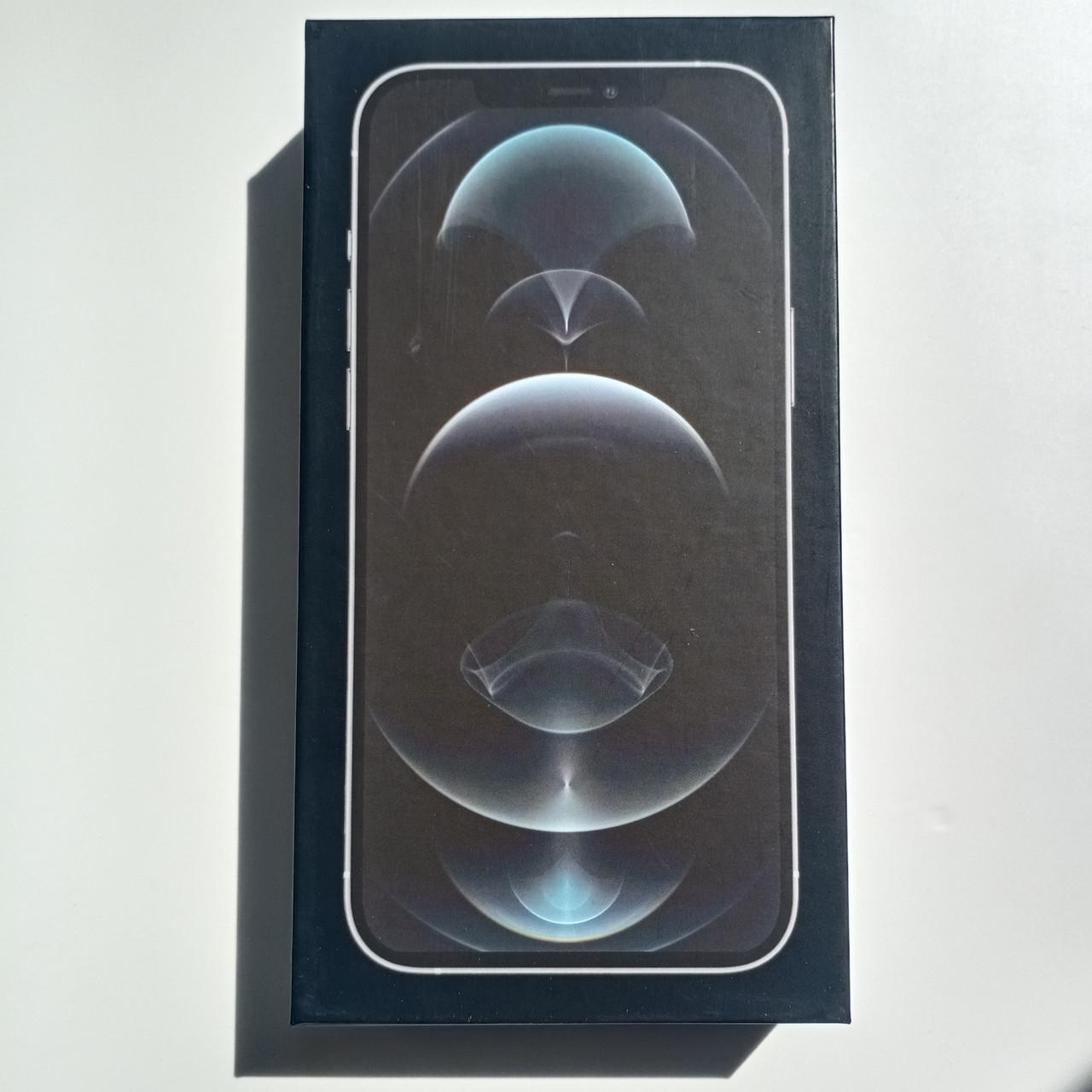 Коробка Apple iPhone 12 Pro Max Silver