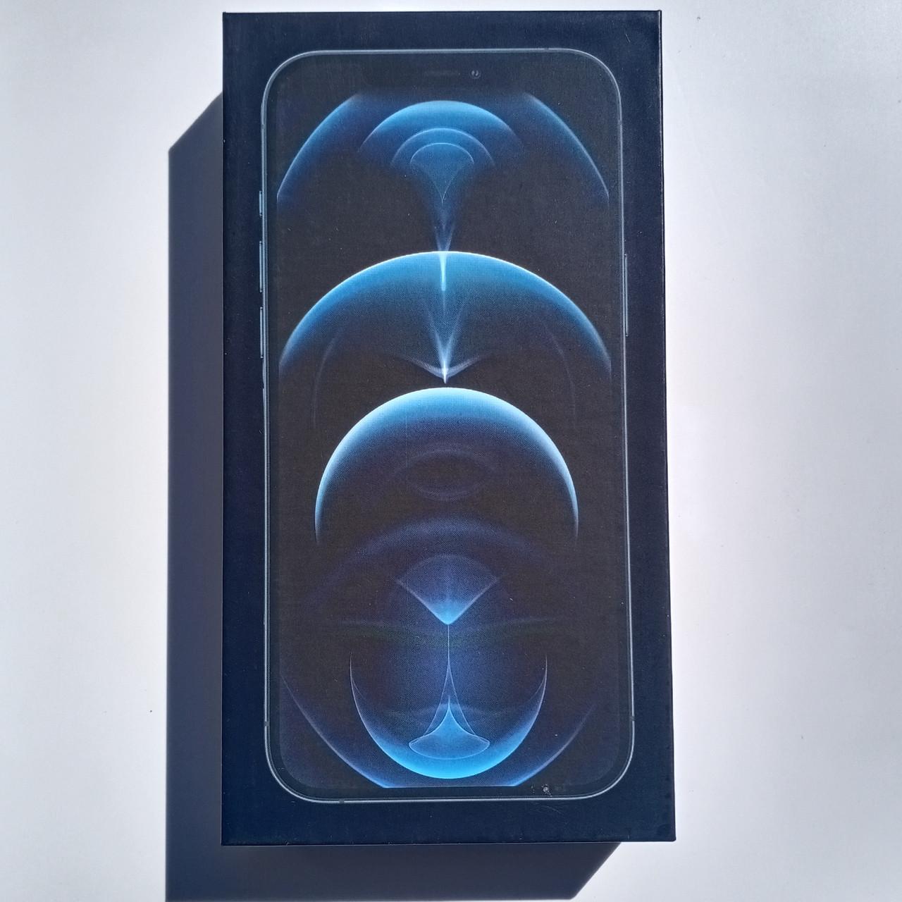 Коробка Apple iPhone 12 Pro Max Pacific Blue