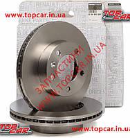 Тормозные диски передние на Renault Master III  ОРИГИНАЛ 8200688880